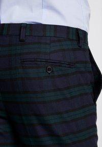 Burton Menswear London - WATCH CHECK - Pantaloni eleganti - black - 5