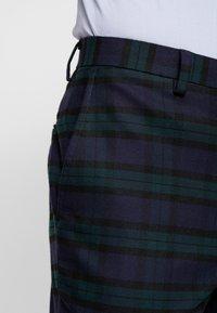 Burton Menswear London - WATCH CHECK - Pantaloni eleganti - black - 3