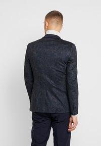 Burton Menswear London - PAISLY  - blazer - navy - 2
