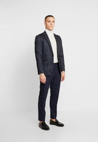Burton Menswear London - PAISLY  - blazer - navy - 1