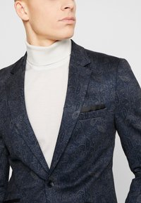 Burton Menswear London - PAISLY  - blazer - navy - 3