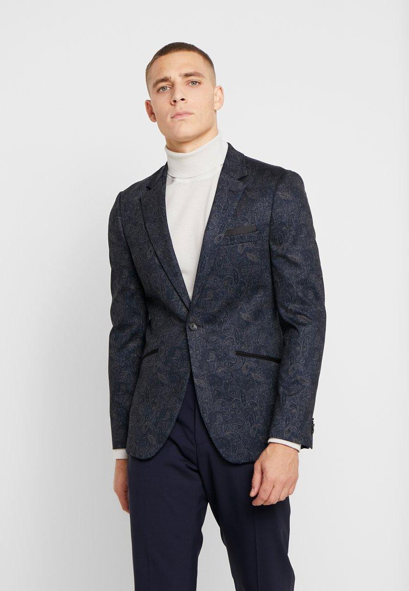 Burton Menswear London - PAISLY  - blazer - navy