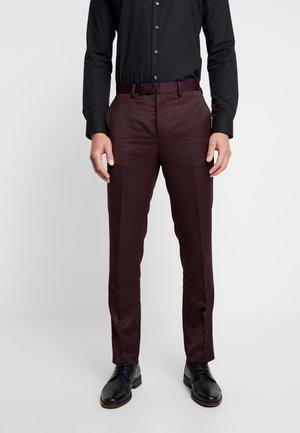 BURG  - Suit trousers - purple
