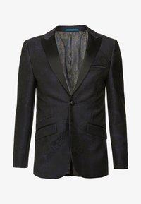 Burton Menswear London - FLORAL - Giacca - black - 4