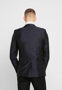 Burton Menswear London - FLORAL - Giacca - black - 2