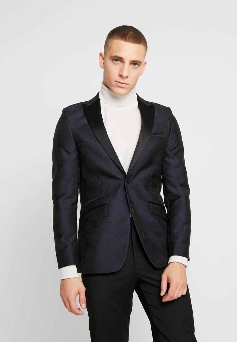 Burton Menswear London - FLORAL - Giacca - black