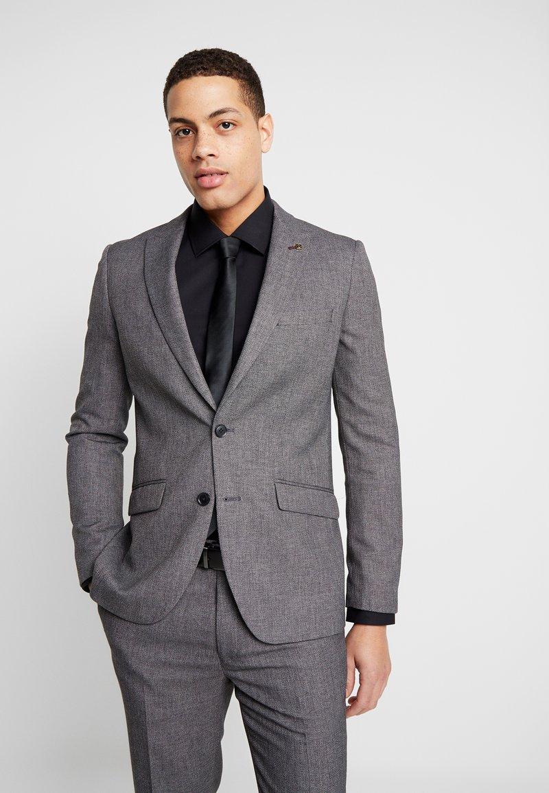 Burton Menswear London - BIRDSEYE - Jakkesæt blazere - grey