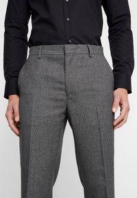 Burton Menswear London - BIRDSEYE - Dressbukse - grey - 3
