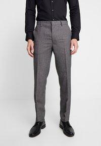 Burton Menswear London - BIRDSEYE - Dressbukse - grey - 0