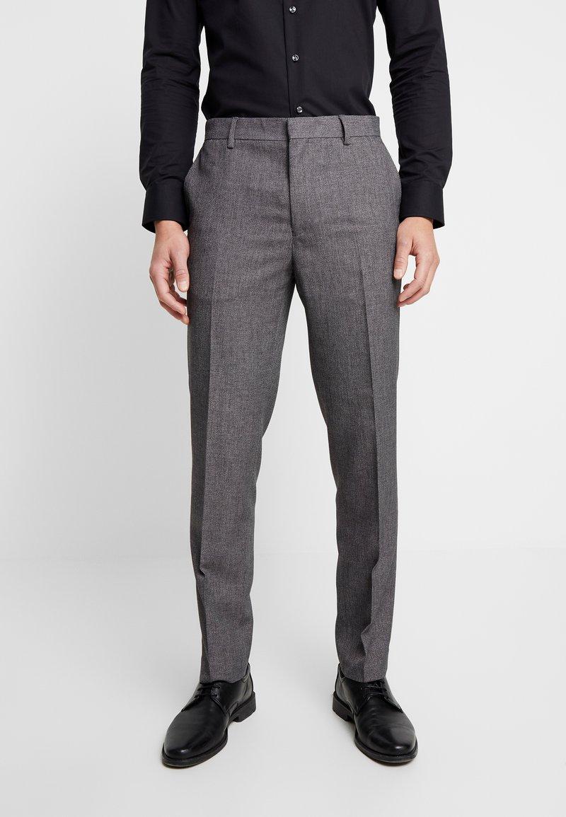 Burton Menswear London - BIRDSEYE - Dressbukse - grey