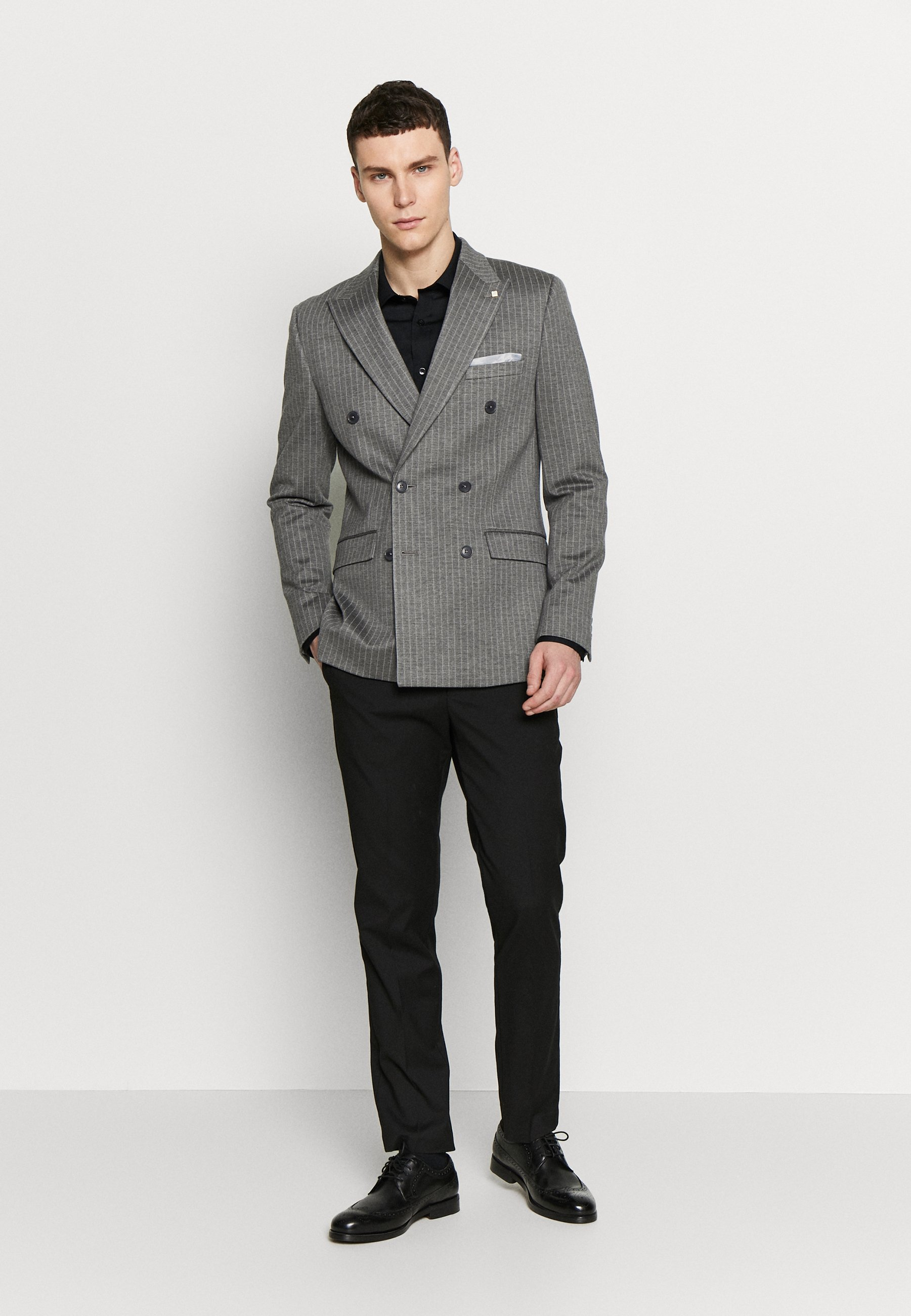 Burton Menswear London Giacca - Grey WQ4U5fB