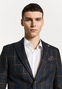 Burton Menswear London - MULTI CHECK - Pikkutakki - navy - 3