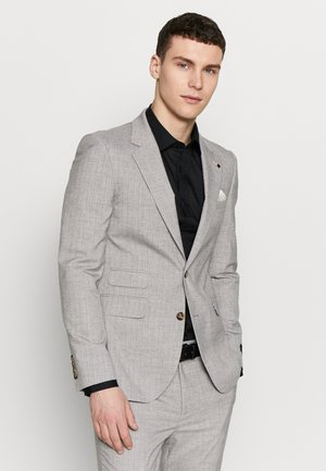 STRIPE - Jakkesæt blazere - grey