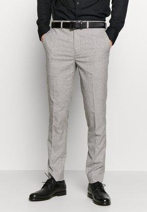 STRIPE - Pantaloni eleganti - grey