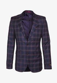 Burton Menswear London - TARTAN - Veste de costume - navy - 4