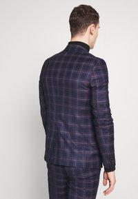 Burton Menswear London - TARTAN - Veste de costume - navy - 2