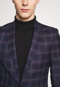 Burton Menswear London - TARTAN - Veste de costume - navy - 5