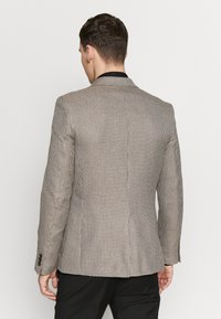 Burton Menswear London - CHESTNUT MINI CHECK - Sako - brown - 2