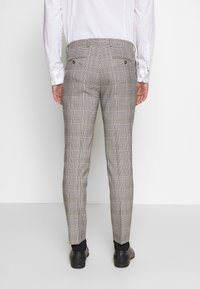 Burton Menswear London - HIGHLIGHT CHECK - Pantaloni eleganti - grey - 2