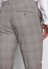 Burton Menswear London - HIGHLIGHT CHECK - Pantaloni eleganti - grey - 5