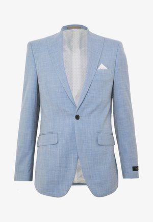 BLUE SHARKSKIN JACKET - Suit jacket - blue