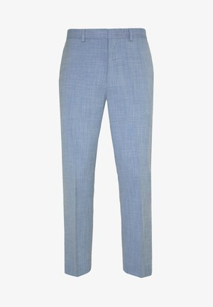 SHARKSKIN TROUSERS - Suit trousers - blue