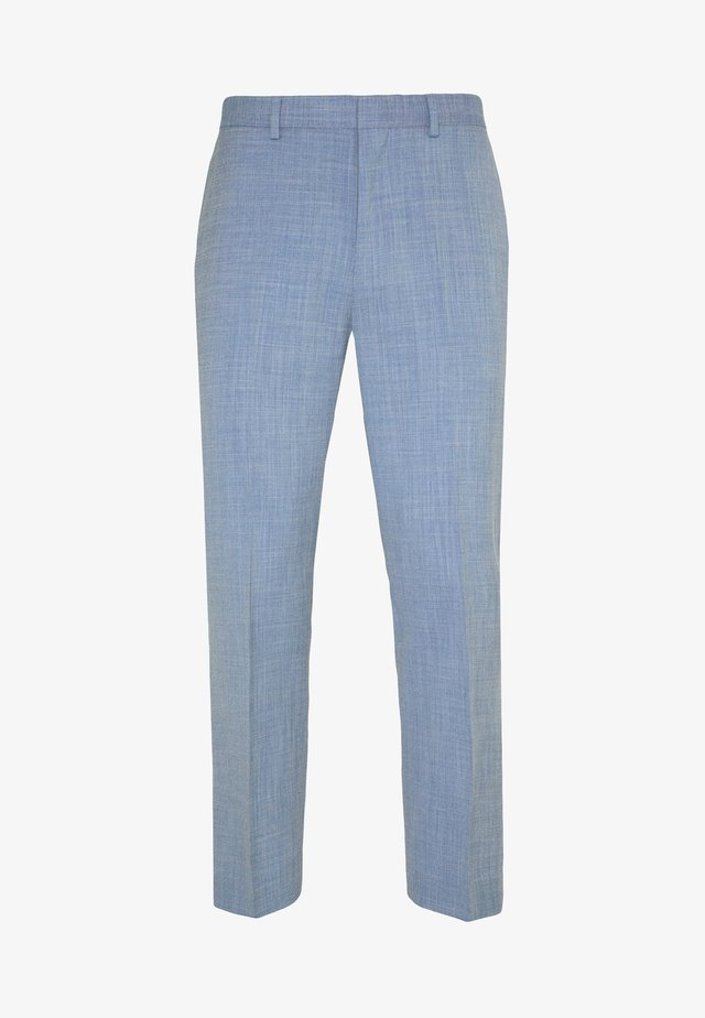 SHARKSKIN TROUSERS - Anzughose - blue