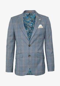 Burton Menswear London - LIGHT POW CHECK - Giacca elegante - blue - 0