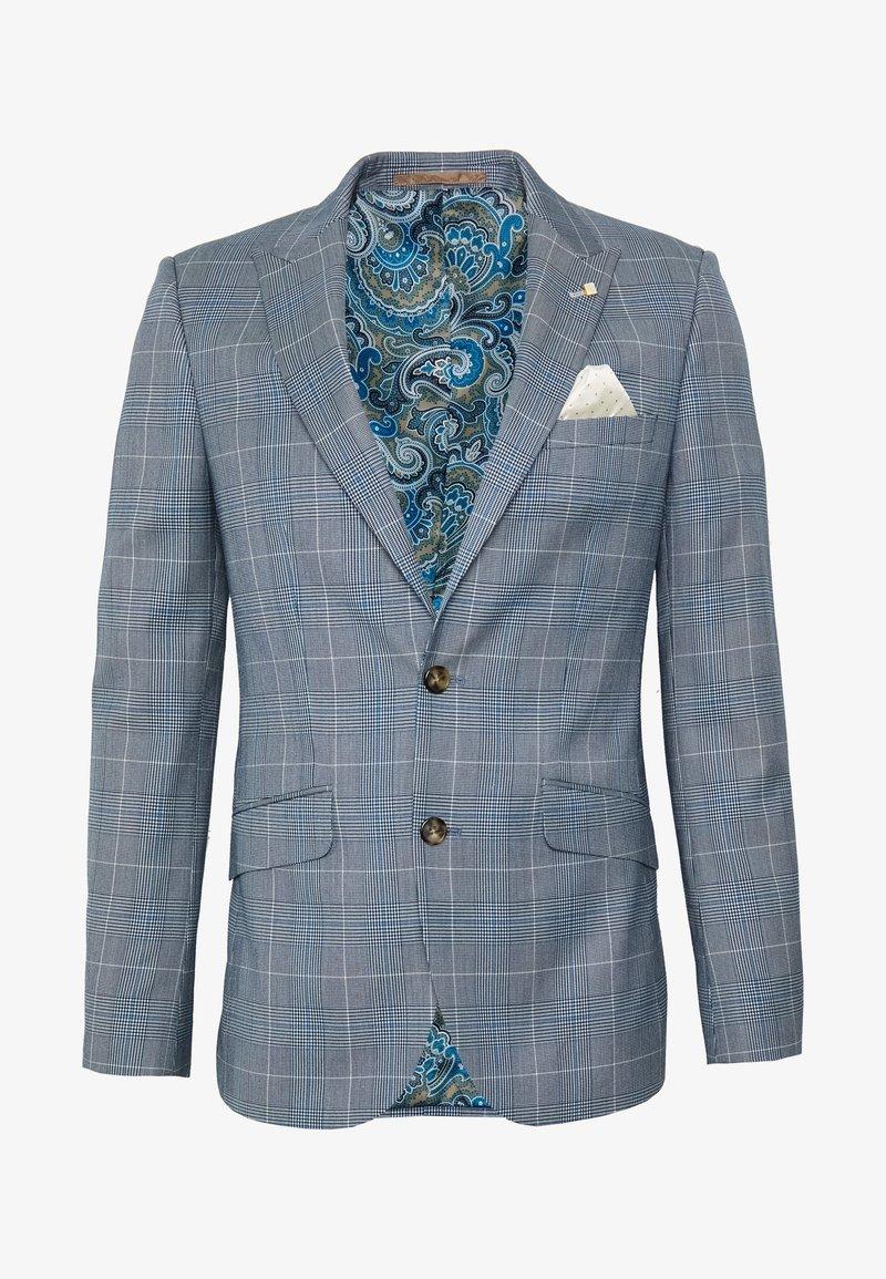Burton Menswear London - LIGHT POW CHECK - Giacca elegante - blue