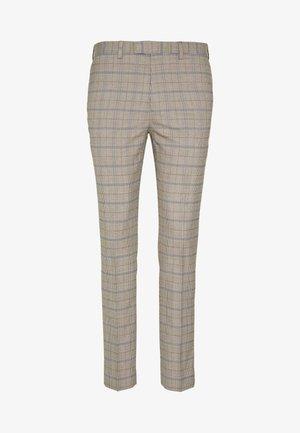 CHECK TROUSERS - Pantaloni eleganti - neutral