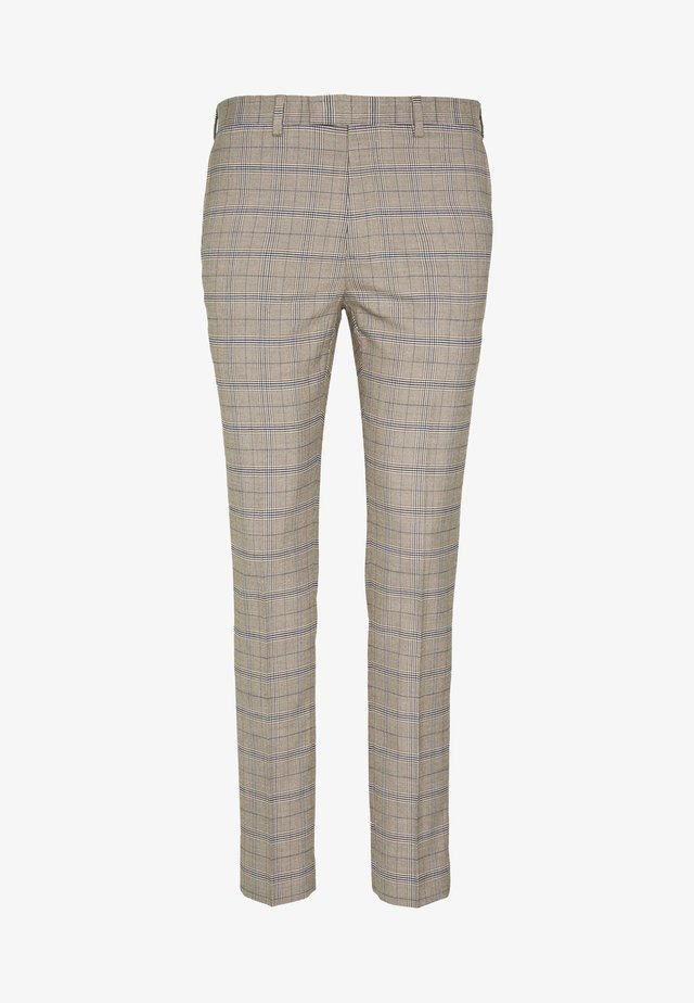 CHECK TROUSERS - Dressbukse - neutral