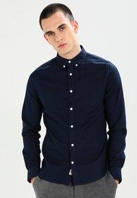 Burton Menswear London - OXFORD      - Shirt - navy - 0