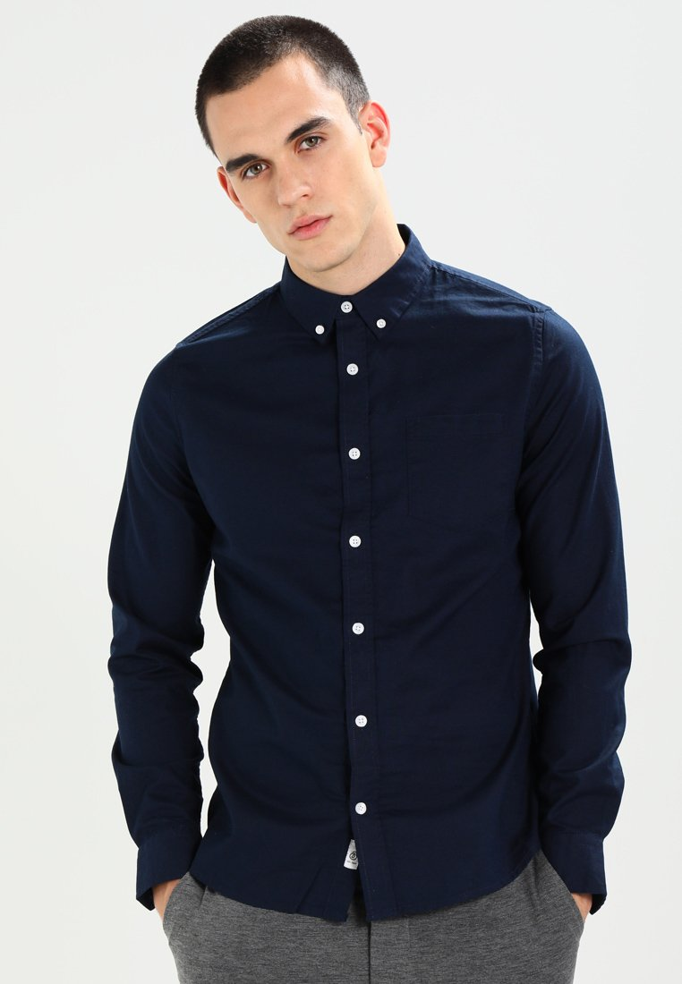 Burton Menswear London - OXFORD      - Shirt - navy