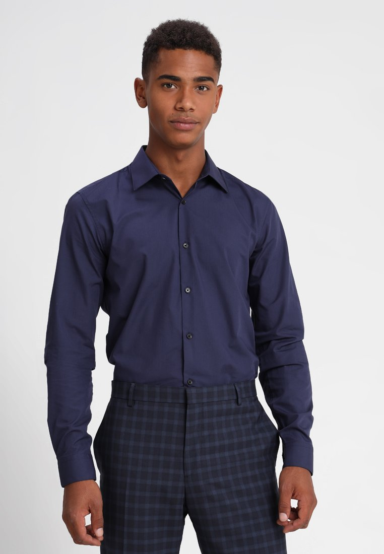 Burton Essential London Menswear Blue Slim FitCamicia xCBrdoe
