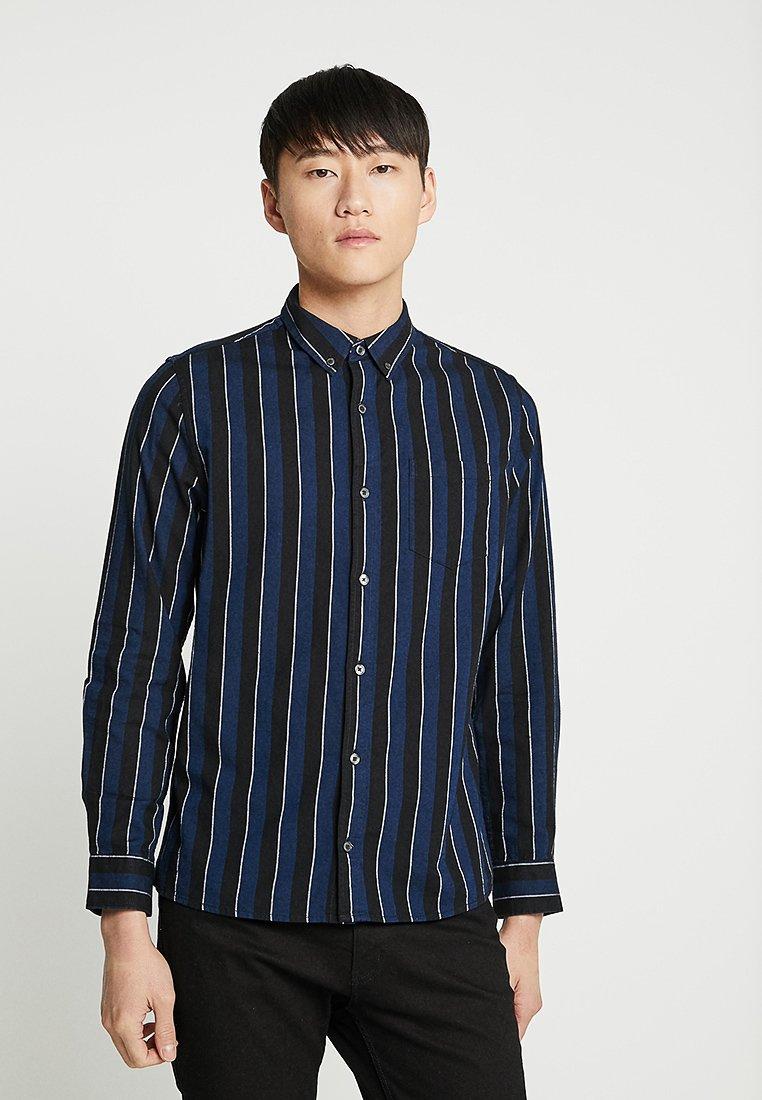 Burton Menswear London - STRIPE - Hemd - navy