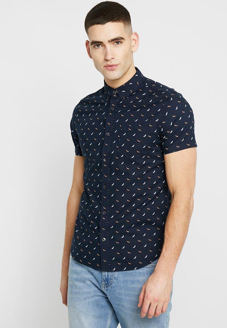 Burton Menswear London - FEATHER - Shirt - navy