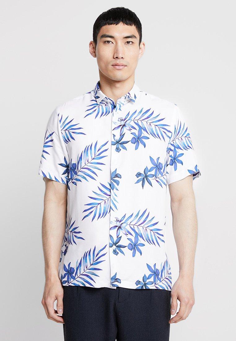 Burton Menswear London - RIVIERA REGULAR FIT - Camicia - white
