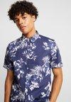 Burton Menswear London - LARGE FLORAL - Hemd - navy
