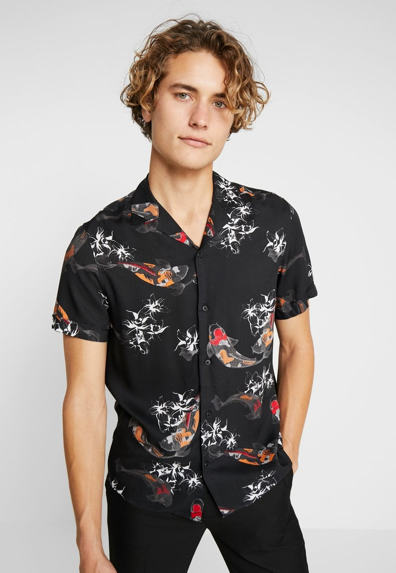 Burton Menswear London - KOI CARP - Hemd - black