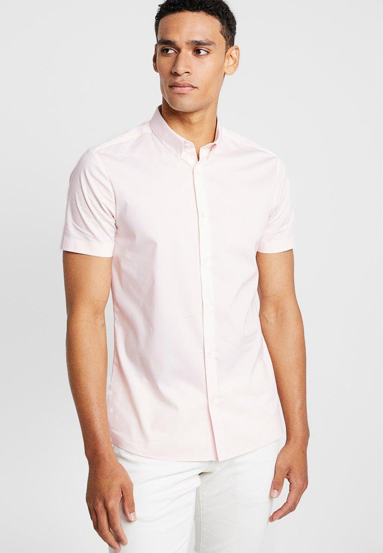 Burton Menswear London - STRETCH SKINNY FIT - Camicia - pink