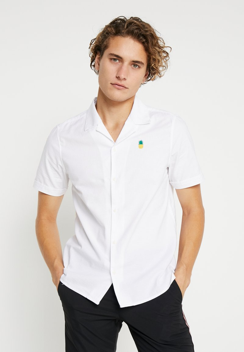Burton Menswear London - PINEAPPLE - Hemd - white