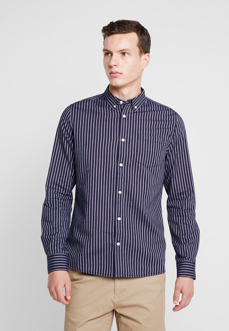 Burton Menswear London - BARBER - Hemd - navy
