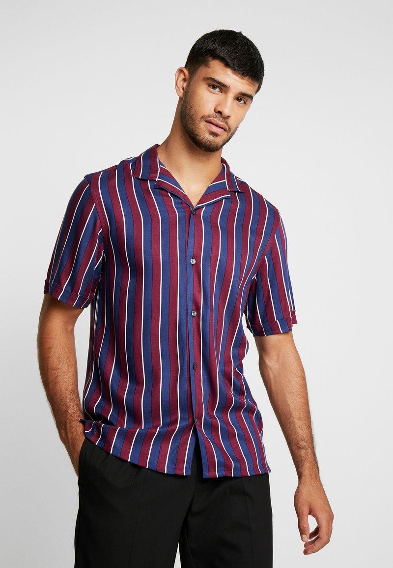 Burton Menswear London - BURG TRANS - Camisa - burgundy