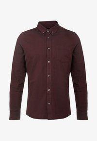 Burton Menswear London - OXFORD - Shirt - burgundy - 4