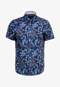 Burton Menswear London - FLORAL - Skjorta - black - 3