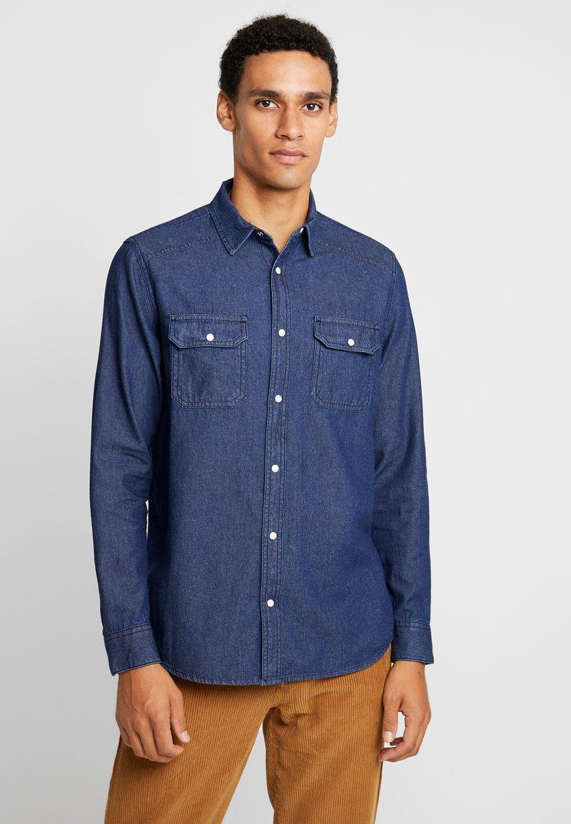 Burton Menswear London - WESTERN - Skjorte - blue