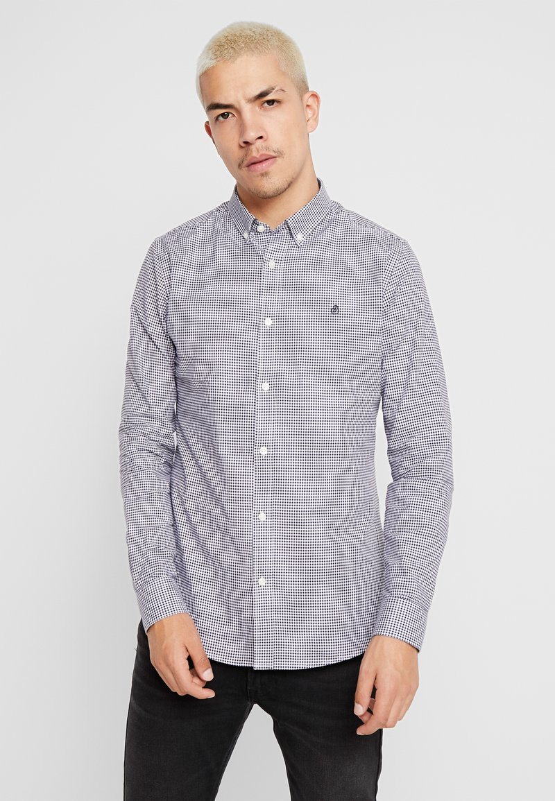 Burton Menswear London - MINIGINGHAM - Skjorter - navy