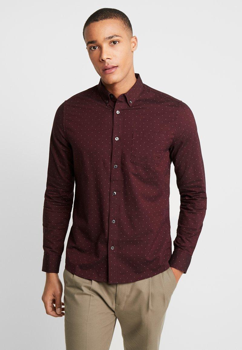 Burton Menswear London - Shirt - burgundy