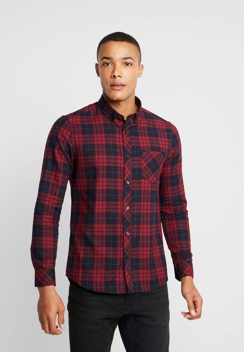 Burton Menswear London - PERRY  - Hemd - burgundy