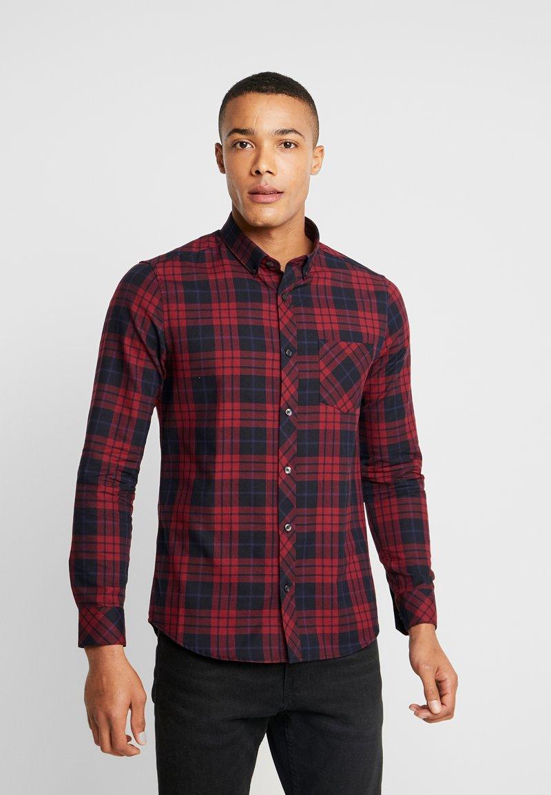 Burton Menswear London - PERRY  - Shirt - burgundy